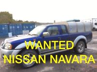 WANTED !!! NISSAN NAVARA JEEP ANY CONDITION