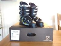 Ski Boots Salomon X max 60 T Youth 2015. Size 24.5/UK 6.