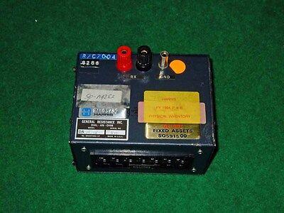 general resistance DA-74-3X-Decade Box