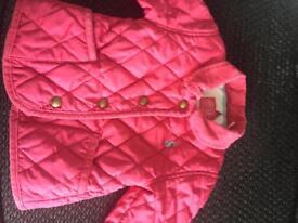 Joules baby coat