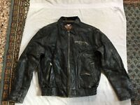 Harley-Davidson - Distressed Leather Jacket
