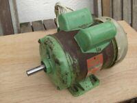 Brook Crompton Parkinson 'Gryphon' A/C Electric motor
