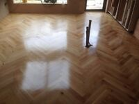 Floor Sanding Services using THE TRIO LAGLER -DUST FREE machine and PLASTERING