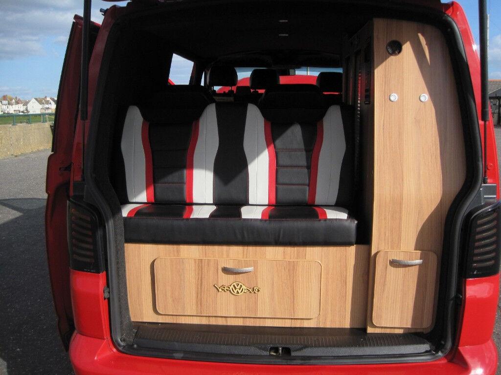 Volkswagen 2 Berth Campervan 2004 Red Amazing In Hornsey London Our Delica Campervans 12v Electrical Setup