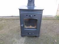 Arrow Acorn 4F burns wood or solid fuel