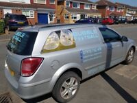 Bubble Football business incl van. 10 used bubbles and one spare. 2009 van full MOT and service.