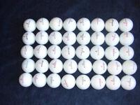 40 Pinnacle golf balls