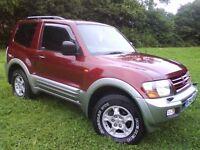 @@ AMAZING CONDITION FOR YEAR 2000/PLATE MITSUBISHI SHOGUN GDI GLS,3.5 V6 PETROL AUTO,FULLY LOADED@@