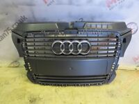 AUDI A3 8P0 MODEL FRONT GRILL FITS 2009-12 VEHICLES 8P0 853 651 M