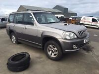 2004 2.9 Hyundai Terracan. Breaking for parts only. Postage Nationwide