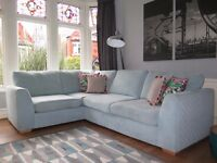 Sky DFS 'Eleanor' Large Corner Sofa With Quilted Sides RRP £1638