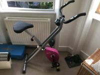 Pink Exercise Bike - great condition, never used