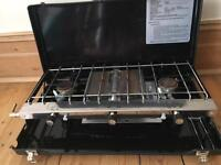 Elite double burner with Grill and bag