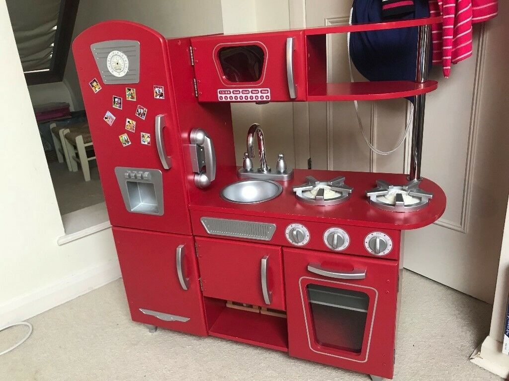 Kidkraft Vintage Play Kitchen Red