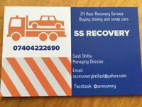 SS Recovery! for all you recovery and transportation needs