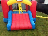 bouncy castle in excellent order