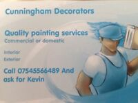 Painter decorator, painting decorating, wall paper hanging, Liverpool