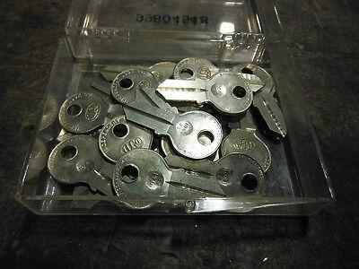 Lot Of 10 - Ilco Blank Keys 1041fe New