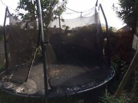 Jumpking 10feet trampoline with safety net