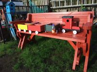 heavy duty two in one picnic bench