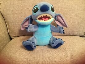 Disney Aloha Stitch interactive talking plush toy