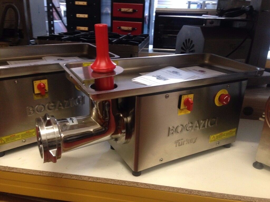 22 MEAT MINCER MACHINE WITH REDACTOR HEAVY DUTY / RESTAURANT / BUTCHER / FAST FOOD