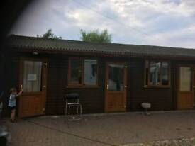 One bed lodge available for long term rent isleham