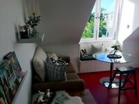 FRESHLY DECORATED DOUBLE ROOM-TOP FLOOR FLAT-AB11