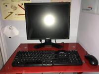 Dell optiplex 755 pc & lcd screen windows 7