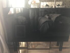 FREE Black gloss headboard for king size bed