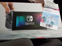 nintendo switch with Zelda Unopened