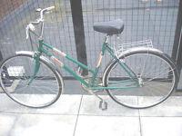 Gorgeous Vintage Lightweight Dutch Style 3 Speed, ladies bike, serviced