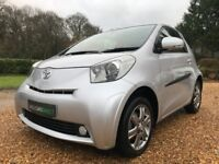 2011 Toyota iQ 2 with just 29,250 miles from new Superb Service History and a NEW MOT Keyless Entry