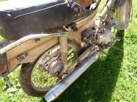 WANTED ANY... HONDA C90/70/50 ...SPARES.