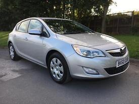 VAUXHALL ASTRA 1.7 CDTI ECOFLEX EXCLUSIVE . 2010 60REG ONLY £ 30 PER YEAR ROAD TAX P/X WELCOME.
