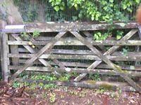 Field Gates x 2,