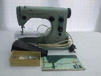 Vintage Husquavana 1960's 19e electric sewing machine