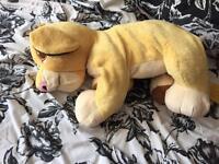 Disney teddy bear simba from lion king