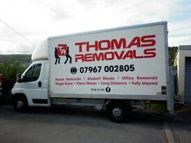 THOMAS REMOVALS MAN & VAN SERVICES
