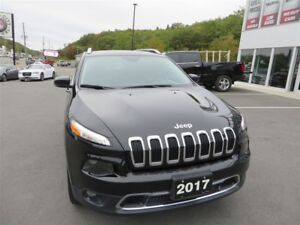 2017 Jeep Cherokee Limited *Heated Leather *Nav *Backup Cam