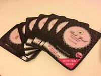 Black peal paper sheet eye mask 80p each