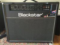 Blackstar Guitar Amp - HT 60w Soloist valve combe - recent full service