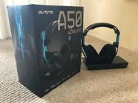 Astro A50 Gen 3 Headset w/ Base Station for PS4/PC