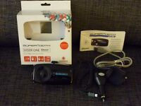 Bluetooth Handsfree car kit boxed with user manual
