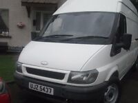 2004 ford transit 125 T350 taxed and psvd until feb 17 ex condition
