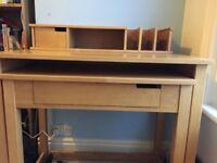 Solid wood desk - John lewis