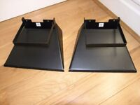 Pair Quality Metal Speaker Stands Weymouth