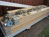 Used scaffolding tubes, boards and fittings, as new condition. Buyer collects.