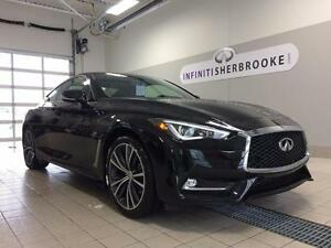 2017 Infiniti Q60 Coupe V6 TURBO 300HP - AWD - CUIR - TECHNO PAC