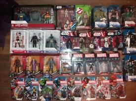 Star wars marvel dc figures